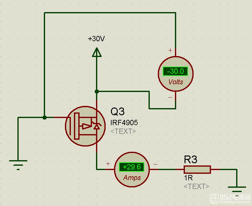 pmos开关电路vgs电压过高问题,求助