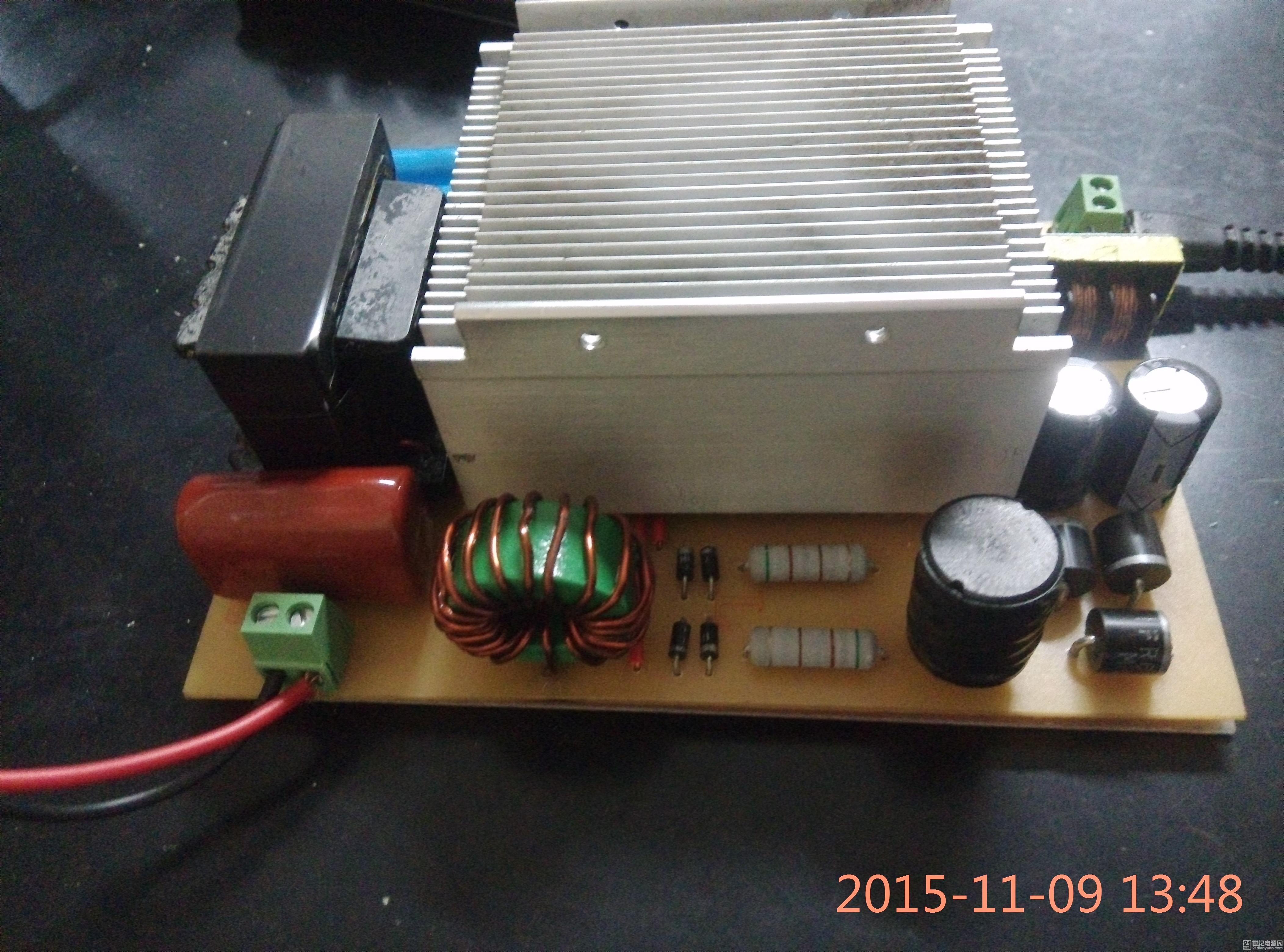 【武diy】简易逆变器 无线电能传输装置