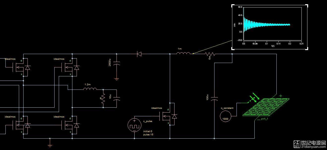 boost升压 单相全桥逆变电路输入能否接蓄电池