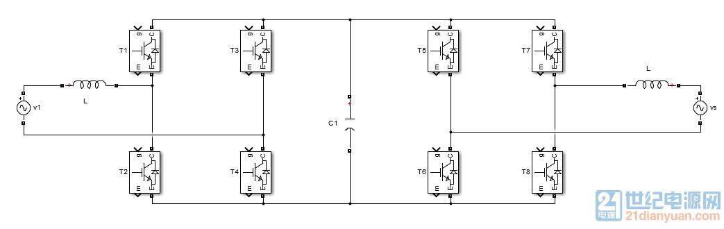 单相pwm整流器 能量双向流动