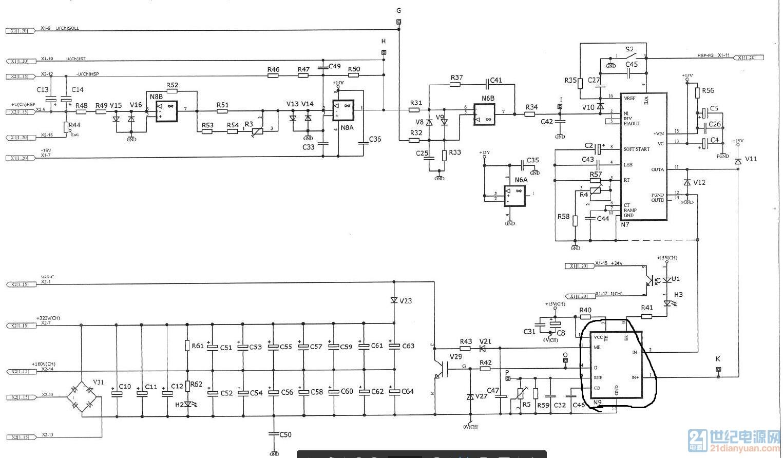 芯片xr1o71应用电路图