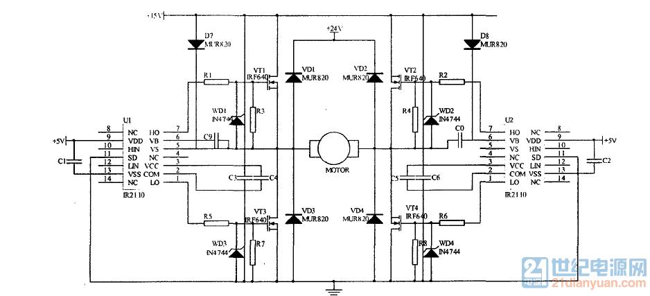 历届会议资料  10问答币     ir2110直流电机驱动,求大神帮忙看看电路