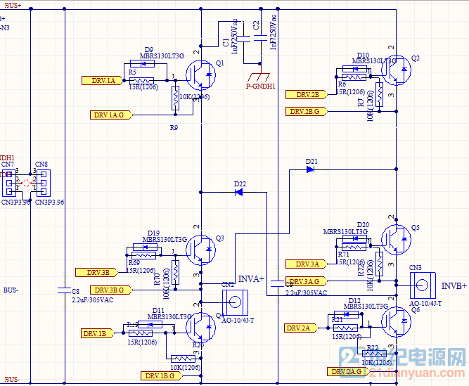 【原创】h6拓扑单相非隔离光伏并网逆变器研究——从h桥离网开始