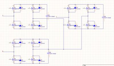 新人求助,看一个逆变器主电路