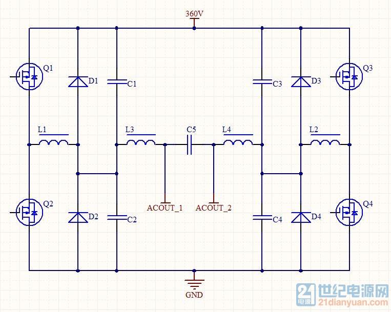 尝试用一种【ZVS软开关电路】来做纯正弦波逆变器。