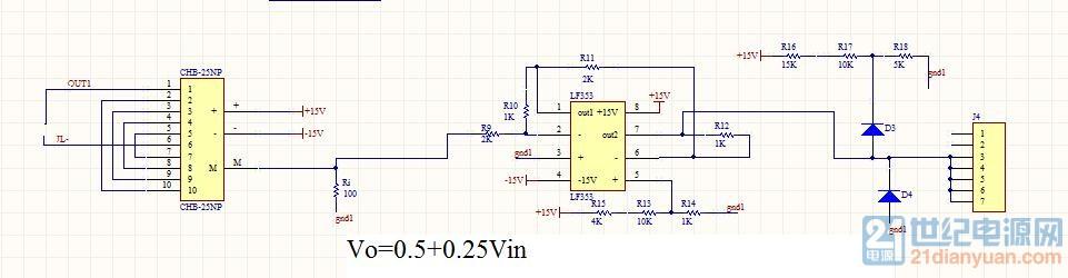 6v) 在全桥谐振电路中,采样100khz交流电流,电流互感器用的是la-25np