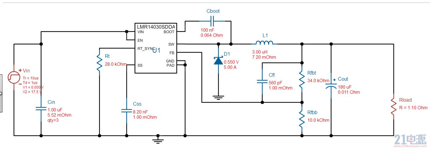 15V转3.3V,输入输出压差较大,考虑到效率问题,只能使用BUCK型DC/DC稳压器,这类稳压器是开关稳压器里做常用的,各大半导体厂商都有,选择余地很大,建议到TI、Linear(ADI)等厂商的官网在线选型。