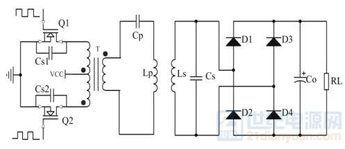 简单无线电路拓扑