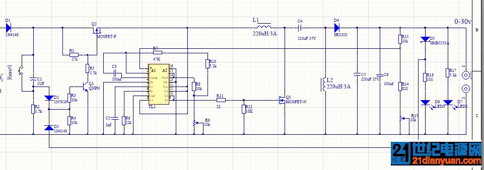 TL494  SPEIC 稳压电路